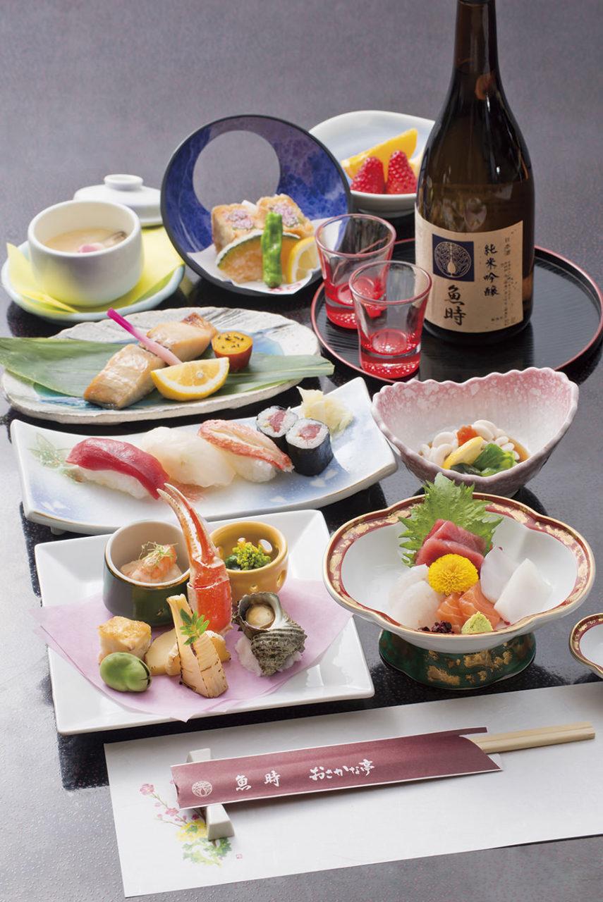季節の海の幸コース料理|魚時会館おさかな亭